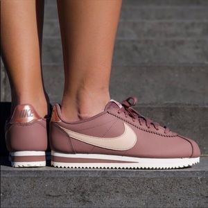 Nike Cortez Leather Mauve/Blush